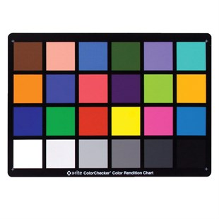 X-Rite ColorChecker Classic Color Rendition Chart