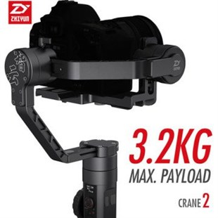 Zhiyun Crane 2 Gimbal (Follow Focus ve Dual Handle Hediye)
